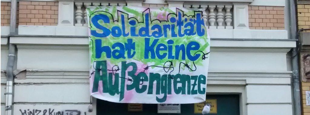 Solidarität Außengrenzen